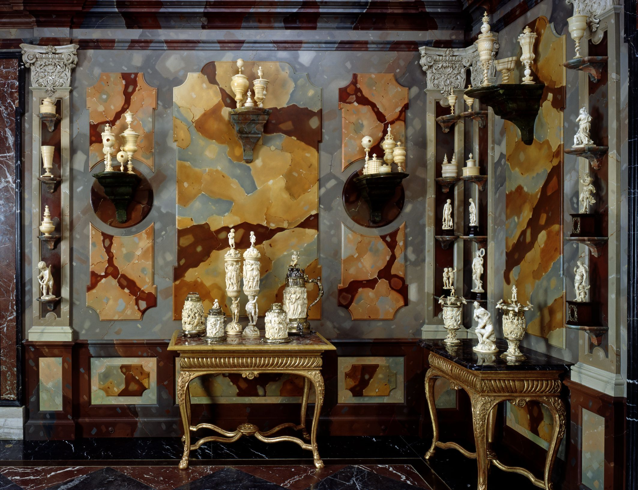 historisches gr nes gew lbe museumsnacht. Black Bedroom Furniture Sets. Home Design Ideas